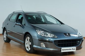 PEUGEOT 407 SW 2.0 HDi 138 CV CONFORT PACK II AUTOMATICO/S