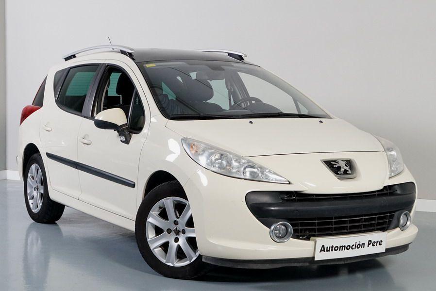 Peugeot 207 Sport SW 1.6 HDi 92 CV. 1 Sola Propietaria.