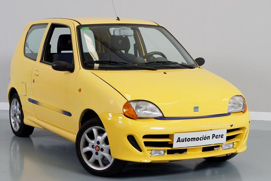 Nueva Recepción Pendiente de Preparación: Fiat Seicento 1.1i Sporting Abarth 54 CV Pocos Kms 1 Propietaria!!
