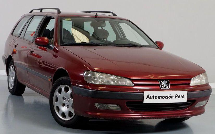 Peugeot 406 2.0 HDi 110 CV Break STDT. Económico y con Garantía 12 Meses.