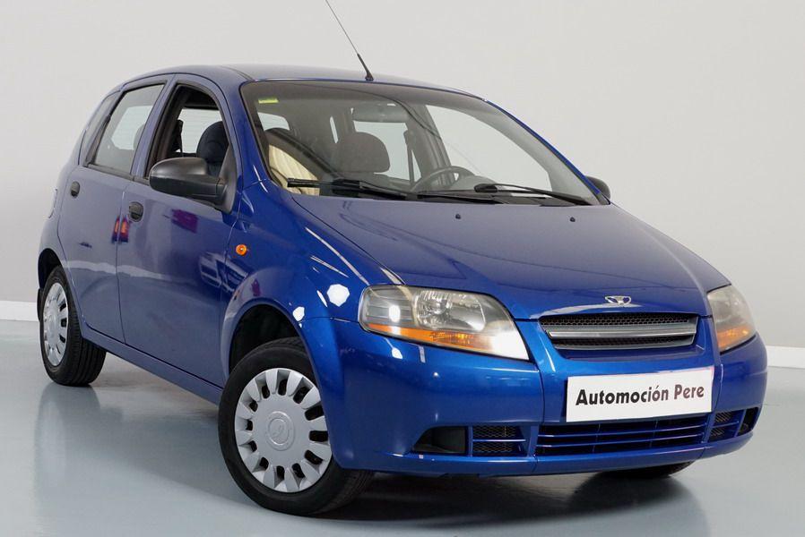 Chevrolet Kalos 1.4i 82 CV SR. Pocos Kms. 1 Solo Propietario. Económico y Garantía 12 Meses.