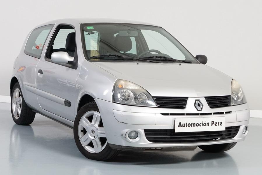 Nueva Recepción: Renault Clio 1.5 dCi 70CV eco Authentique Pack. Pocos Kms. Revisiones Selladas. Garantía 12 Meses.