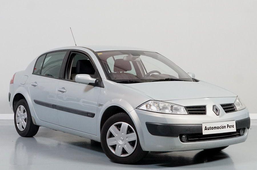 Renault Megane Sedan 1.5 dCi Authentique Confort. 1 Solo Propietario. Económico, Revisado y con Garantía.