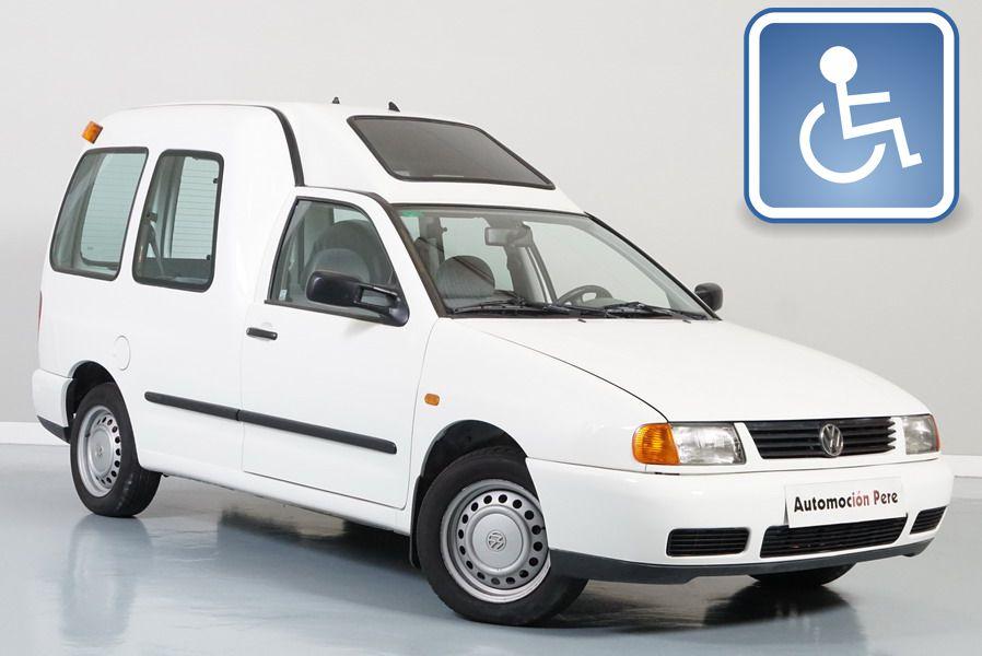 Volkswagen Caddy 1.9 SDi 63 CV. Adaptada para Minusvalidos. Pocos Kms, Revisado y Garantía 12 Meses.