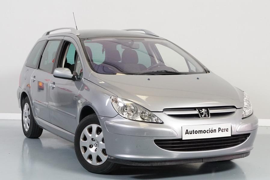 Nueva Recepción: Peugeot 307 SW 1.6i 110 CV. 1 Solo Propietario. 5/7 Plazas.