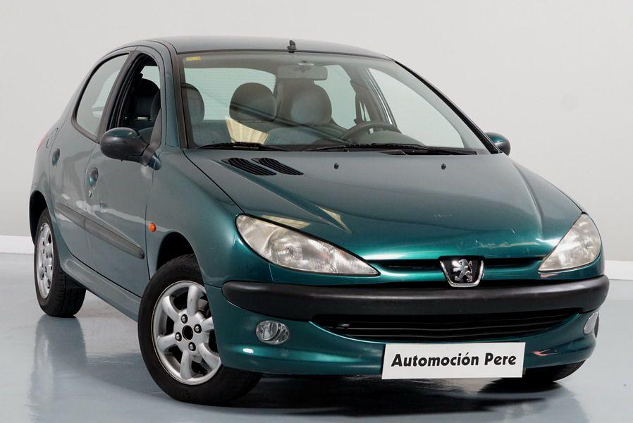 Peugeot 206 1.4i XT Automático. Pocos Kms, Revisado, 1 Propietario.