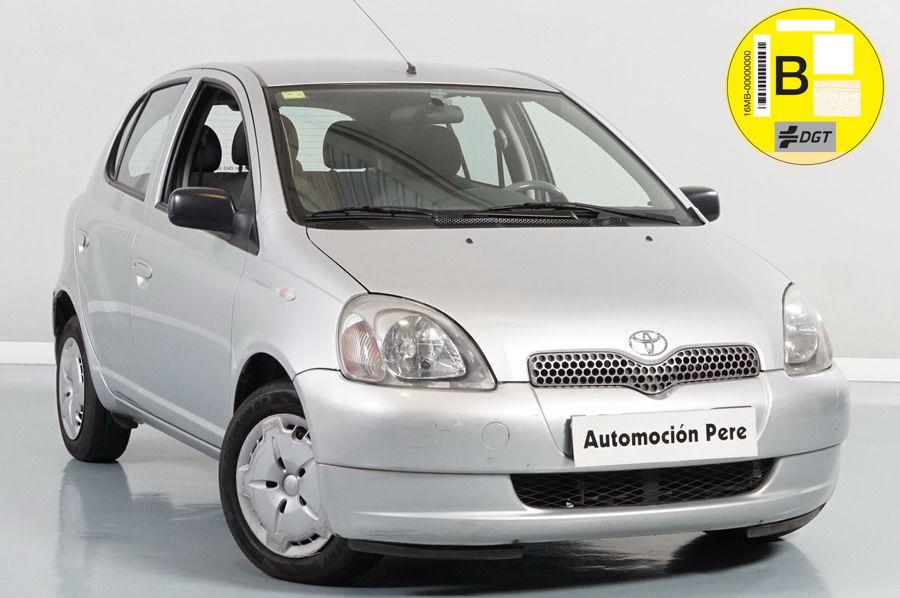 Toyota Yaris 1.3 VVT-i Linea Sol. Económico. Pocos Kms. Revisiones Selladas.