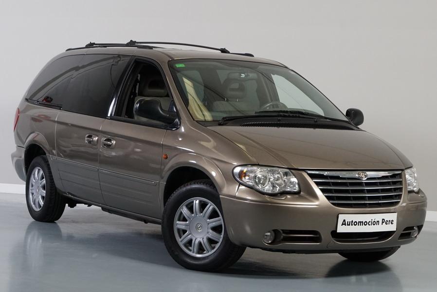 Chrysler Grand Voyager 2.8 CRD 150 CV Automatico. Pocos Kms, Revisiones Selladas. Impecable!