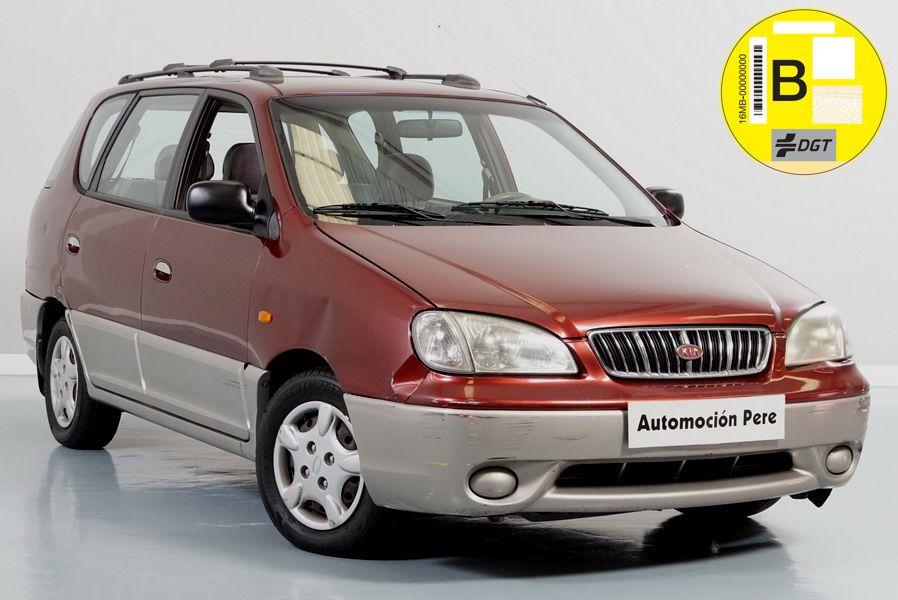 Kia Carens 1.8i 16V LS. Monovolumen Económico. Revisado. Garantía 12 Meses.