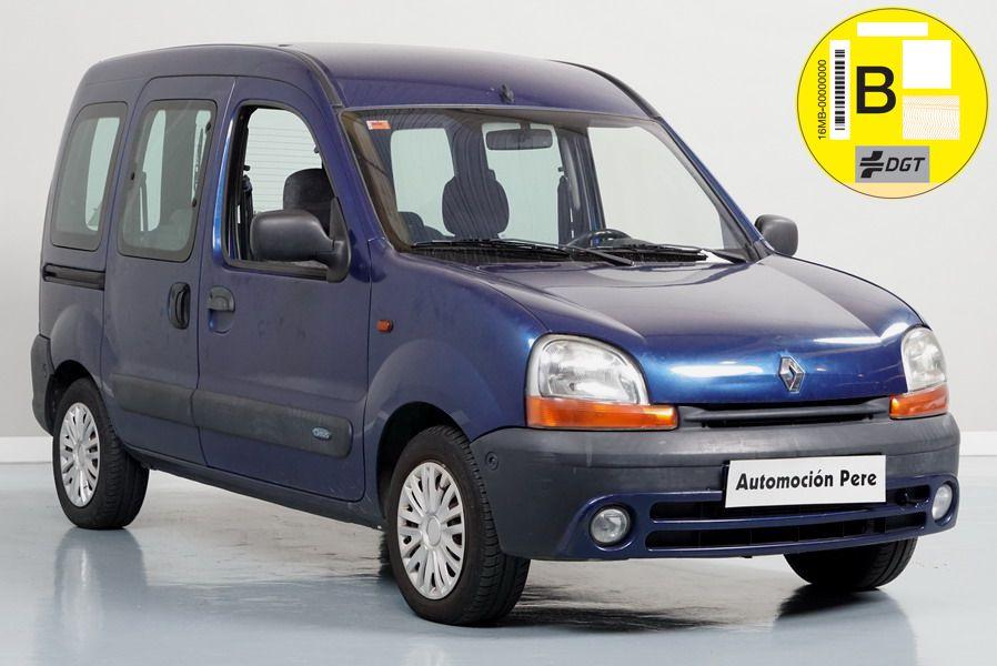 """Renault Kangoo 1.6i 16V 95 CV Expressión Oasis. Único Propietario. Pocos Kms. Revisiones Selladas. Matriculado como """"TURISMO"""""""