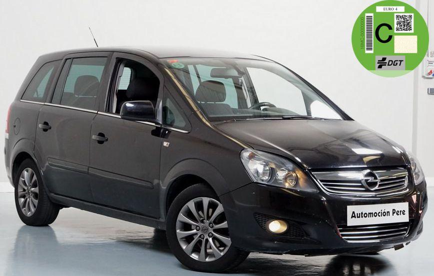 Opel Zafira 1.8i 16V 140 CV Automático/Sec. 111 Years 7 Plazas. Revisiones Oficiales OPEL. Garantía 12 Meses.