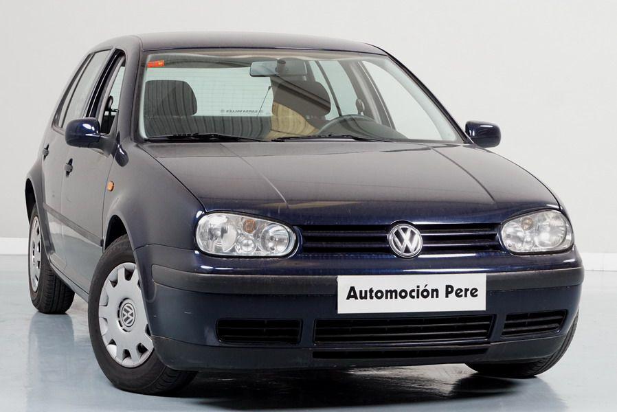 Volkswagen Golf IV 1.4 Conceptline. Único Propietario. Pocos Kms. Económico y Garantía 12 Meses.
