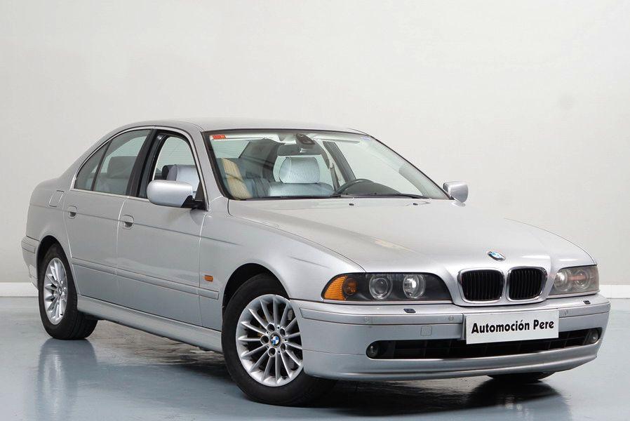 BMW 520d 136 CV. Equipado. Revisado y Garantía 12 Meses.