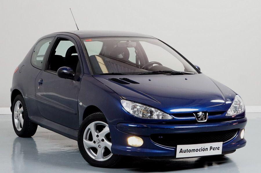 Peugeot 206 2.0 HDi 90 CV XS. Pocos Kms. Económico. Revisado, Garantía 12 Meses.