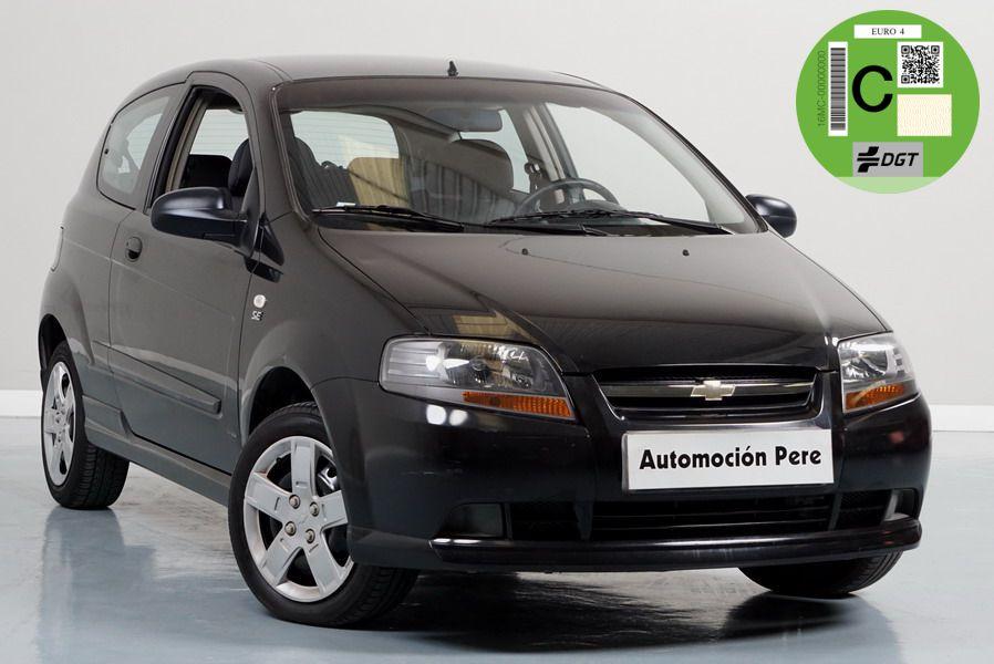 Chevrolet Kalos 1.2i SE. 1 Solo Propietario. 42.000 Kms. Revisiones Selladas. Económico y Garantía 12 Meses.