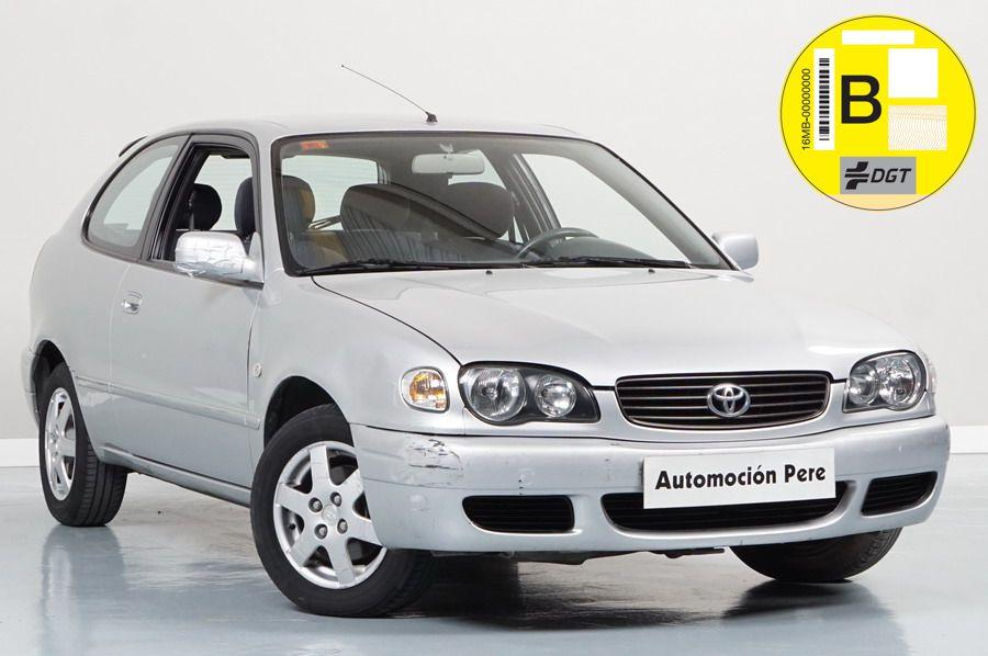 Toyota Corolla 1.4 VVTi 16V 95CV Compact Sol. Económico. Pocos Kms. Revisiones Selladas. OJO! Desperfectos de Pintura (Mirar Fotos)