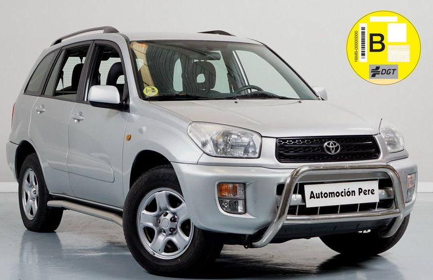 Toyota Rav4 1.8i 125 CV 4x4. Único Propietario. Pocos Kms. Revisiones Selladas. Garantía 12 Meses. Impecable!