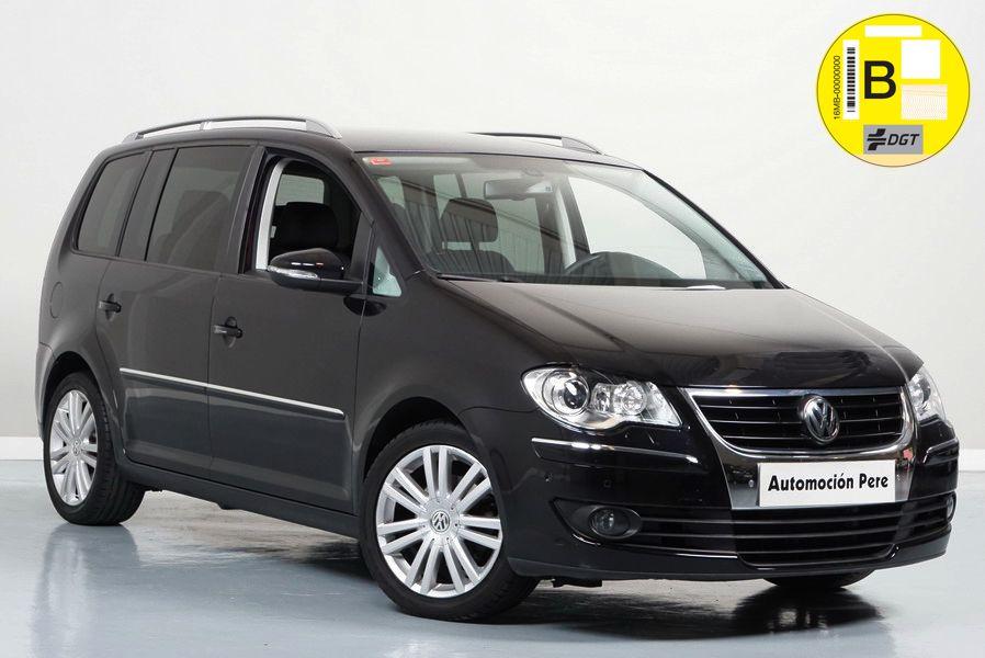Volkswagen Touran 2.0 TDi Sport. Única Dueña. Pocos Kms. Revisiones Selladas.