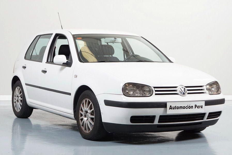 Volkswagen Golf IV 1.9 TDI 90CV Conceptline. Único Propietario. Pocos Kms. Revisiones Oficiales.