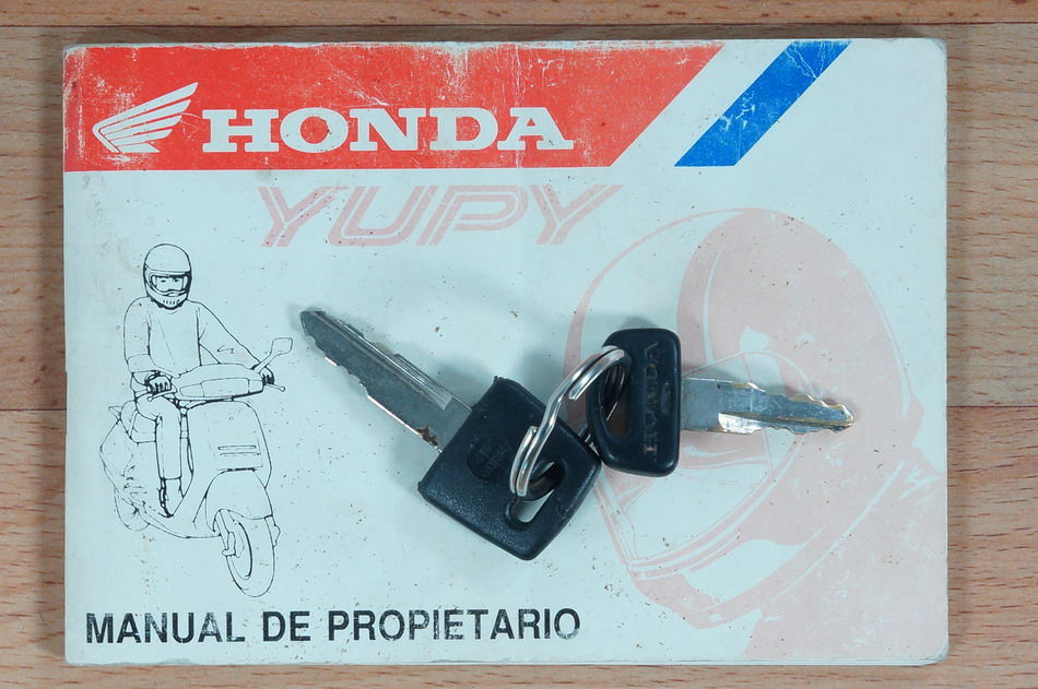 Manual Honda Yupi